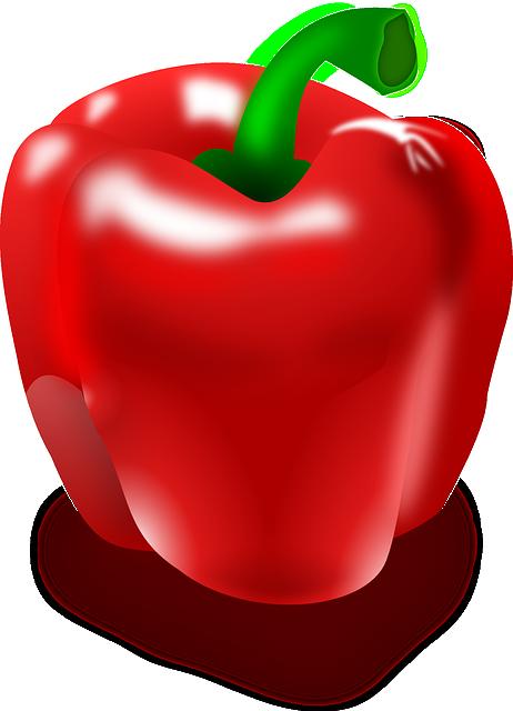 Pepper, Red Pepper, Eat, Hot, Red, Paprika, Vitamins
