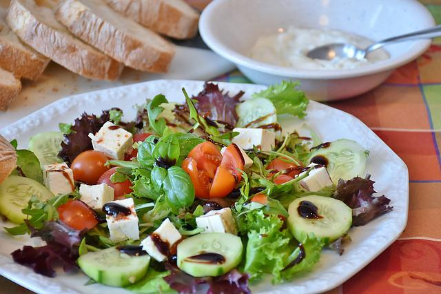 Salad, Salad Plate, Mixed Salad, Starter, Vitamins