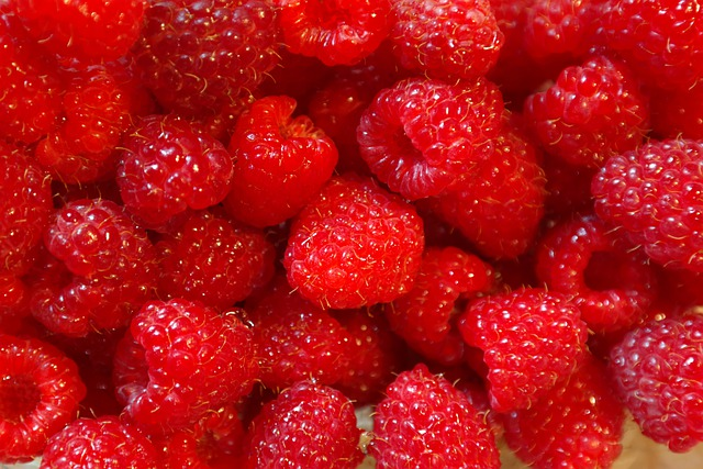 Raspberries, Fruits, Fruit, Berries, Vitamins, Sweet