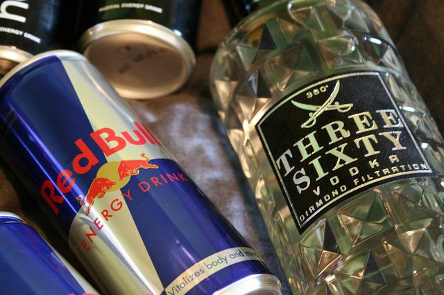 Alcohol, Red Bull, Energy Drink, Vodka, Threesixty