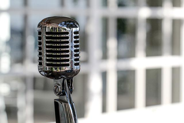 Microphone, Vintage, Cromatic, Mic, Voice, Sound, Music