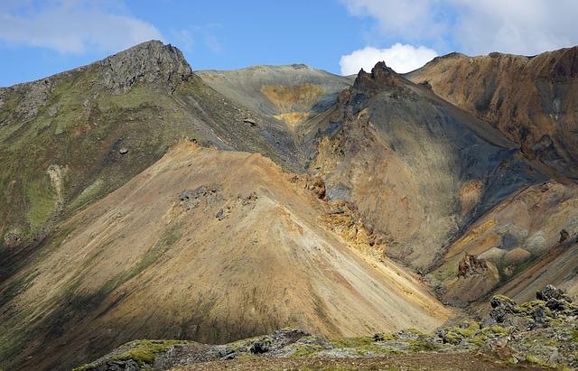 Landmannahellir, Iceland, Volcano, Volcanic Rock, Karg
