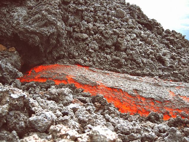 Magma, Lava, Volcano, Volcanism, Guatemala, Liquid