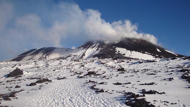Etna, Volcano, Italy, Sicily