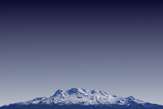 Volcano, Mexico, Mountain Landscape, Landscape
