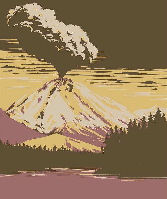 Boom, Eruption, Forest, Mountain, News, Scary, Volcano