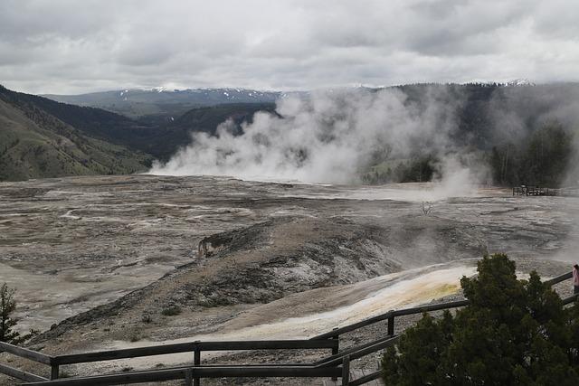 Yellowstone National Park, The Scenery, Volcano