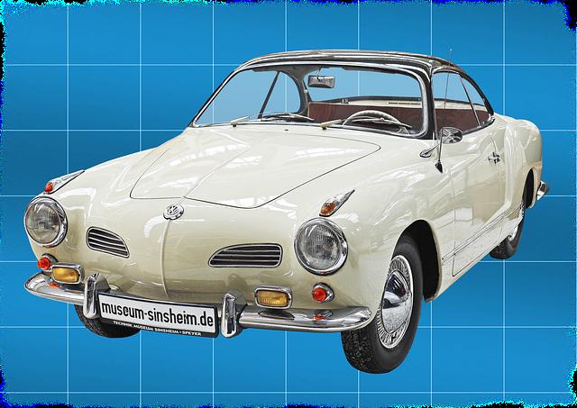 Volkswagen, Karmann Ghia, Cult, Elegant, Coupe