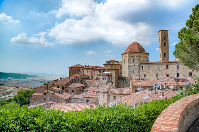 Volterra, City, Medieval, Middle Ages, Old, History