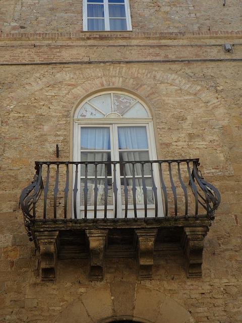 Volterra, Palace, Building, Medieval, Architecture