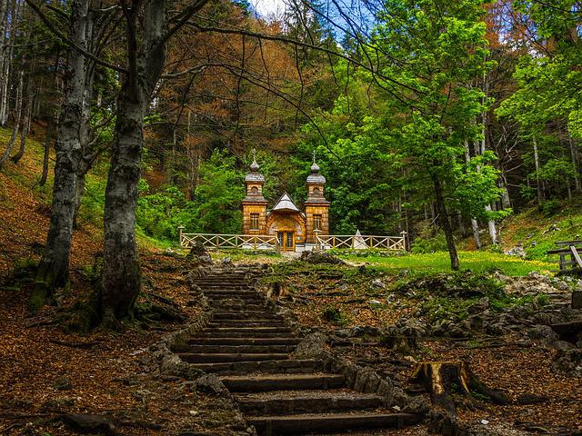 Russian Chapel, Vrsic Pass, Slovenia