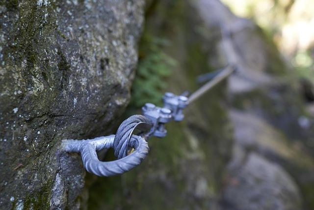 Clinch, Ferrata, Vrútky, Rope, Path