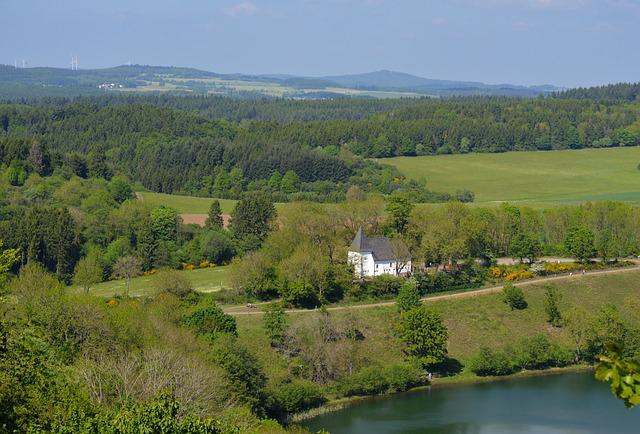 Eifel, Vulkaneifel, Daun, Water, Lake, Rest, Leisure