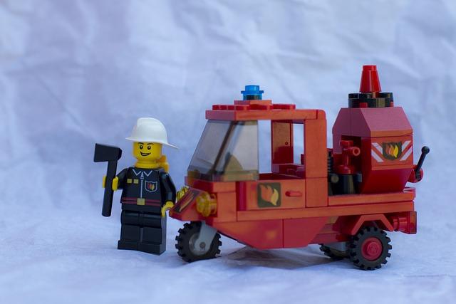 Firemen, Fire, Firefighters, Vvf, Rescue, Lego, Axe