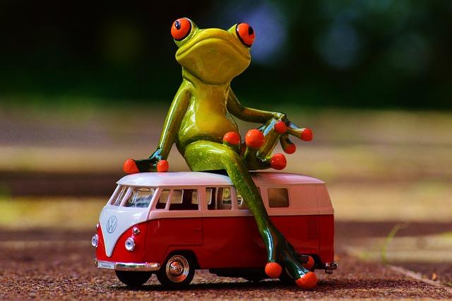 Vw, Bulli, Frog, Vw Bus, Volkswagen, Camper, Auto