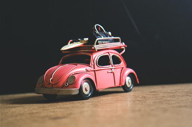 Car, Playing, Vw, Close-up, Toy Car, Volkswagen Beetle