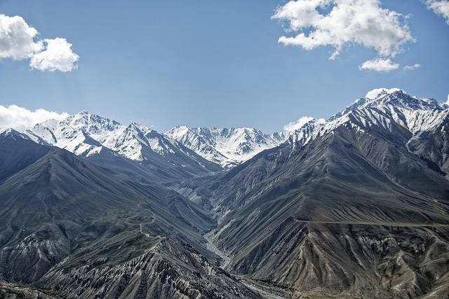 Tajikistan, Wachankorridor, Wakhan River, Wakhan Valley