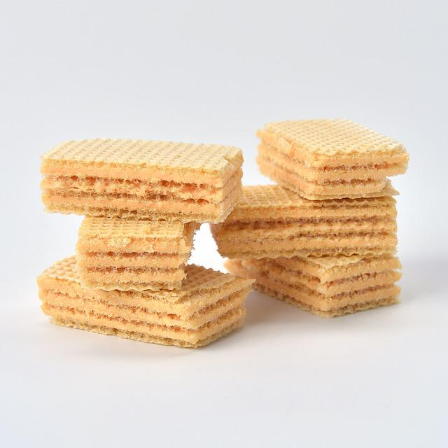 Snack, Food, Sweet, Yummy, Tasty, Cream, Wafer, Crispy