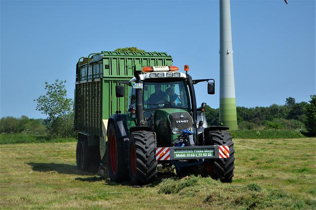 Fendt, Fokke Meyer, Wage Operating, Harvest