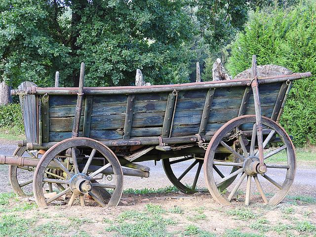 Horse Drawn Carriage, Old, Coach, Wagon