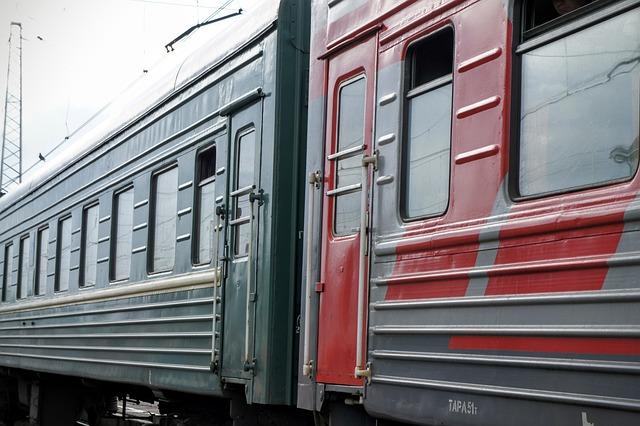 Train, Wagon, Trans-siberian Railway