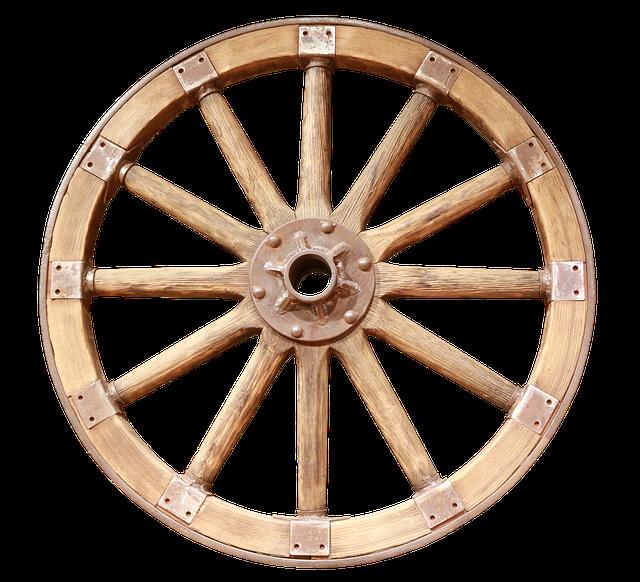 Wooden Wheel, Wheel, Wagon Wheel, Wooden Wheels, Old