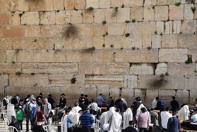 Prayer, Wailing Wall, Jews, Jerusalem, Jew