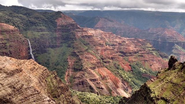 Kauai, Hawaii, Waimea, Kokee, Travel, Landscape