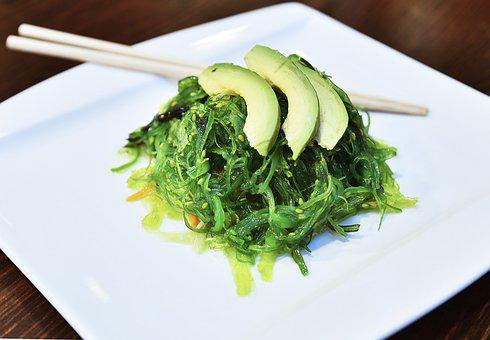 Food, Salad, Wakame, Cooking, Seaweed