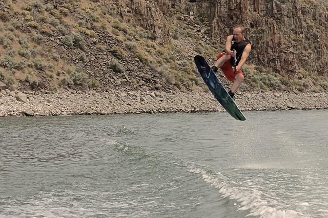 Wake Boarding, Water, Wakeboard, Boating, Sport, Wake