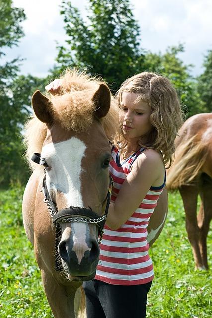 Child, Horse, Waldkirchen
