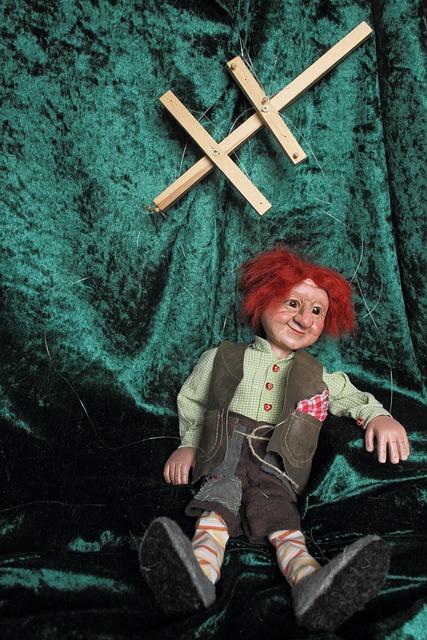Puppet, Doll, Waldschrat, Children Toys, Puppeteer, Fig