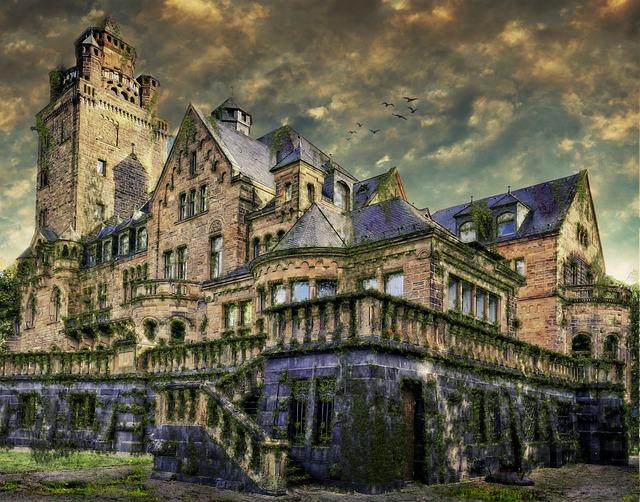 Castle, Budenheim, Waldthausen, Historically, Tower