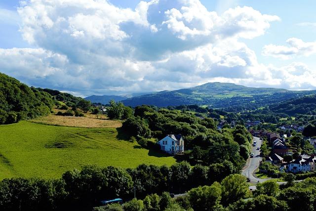 Landscape, Wales, Nature, Uk, Color, Mountains