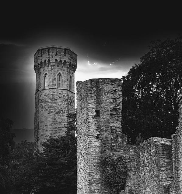 Ruin, Hohensyburg, Places Of Interest, Walk