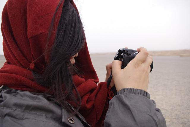 Tourism, Walking, Dunhuang, Desert, China, Shooting