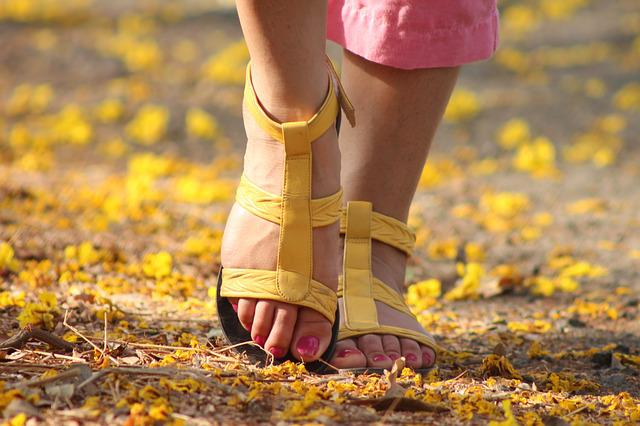 Feet, Lady, Walking, Sandles, Female, Woman, Foot, Girl