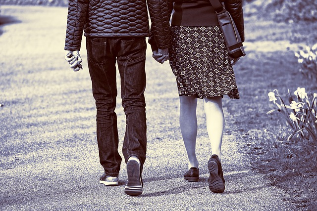 People, Person, Man, Woman, Walking, Hand In Hand
