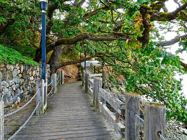 Walkway, Path, Victoria, Covered, Outdoor, Natural