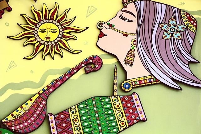 Indian Art, Wall Art, Painting, Handcraft