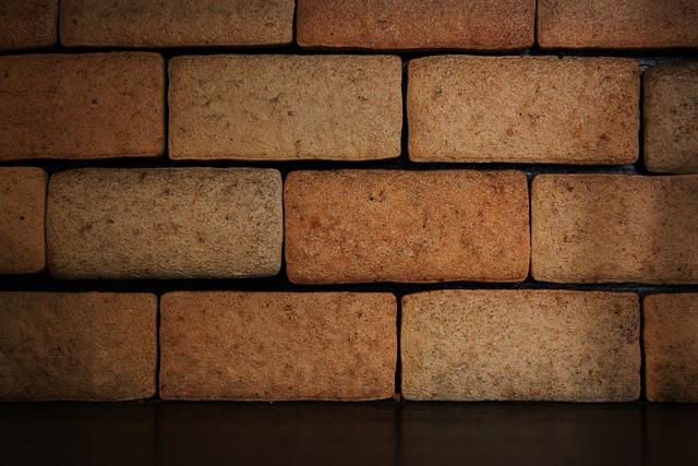 Wall, Brown, Lighting, Brick, Blocks, Stone