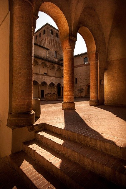 Arch, Castle, Architecture, Stone, Door, Wall, Building
