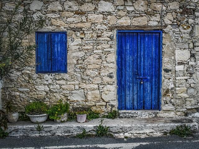 Wall, Old, Window, Door, Architecture, Exterior, Facade