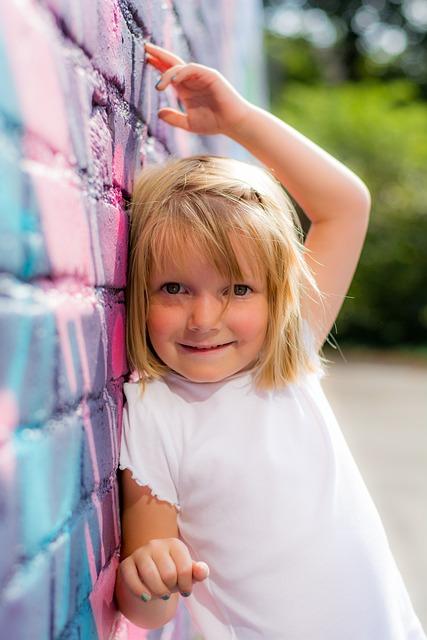 Girl, Wall, Mural, Girl Power, Students, Graffiti