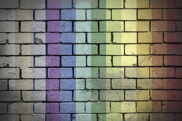 Wall, Brick, Urban, Colors, Gay, Grunge, View Work