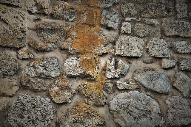 Stone Wall, Walls, Harsh, Wall, Pattern, Bent