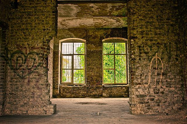 Home, Window, Lost Places, Architecture, Planks, Wall