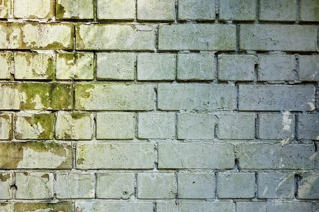 Brick Wall, Wall, Brickwork, White Brick Wall, Masonry