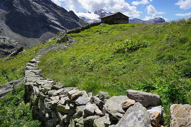Ahrntal, Alps, Wall, Landscape, Nature, Grass, Prato