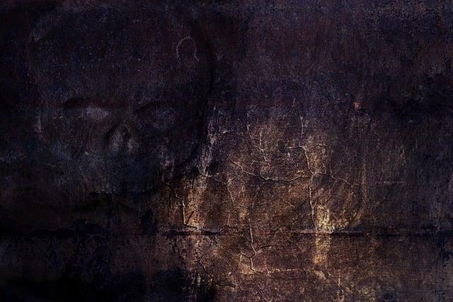 Skull, Wall, Dark, Fantasy, Surreal, Emotions, Art